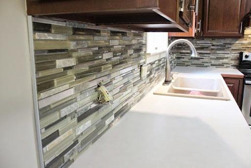 Dads Tile Backsplash Part 1 Danks and Honey