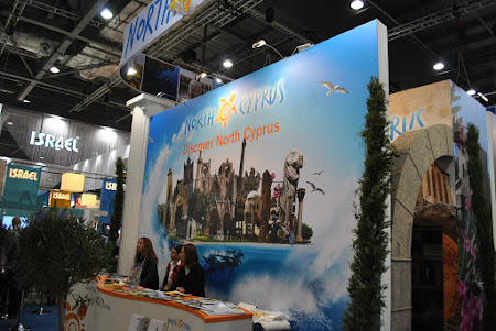 World Tourism Market: Stand Cipru de Nord