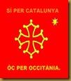 Bandièra occitana 2 Catalunya