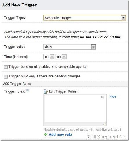 TeamCity-Schedule-trigger