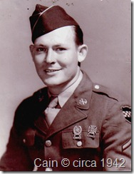 Cain, Odis 1942