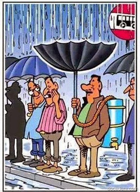 e se chover