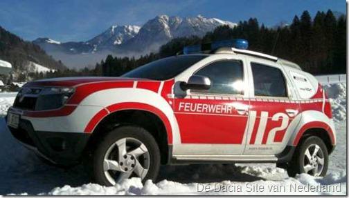 Dacia Duster als brandweer 14