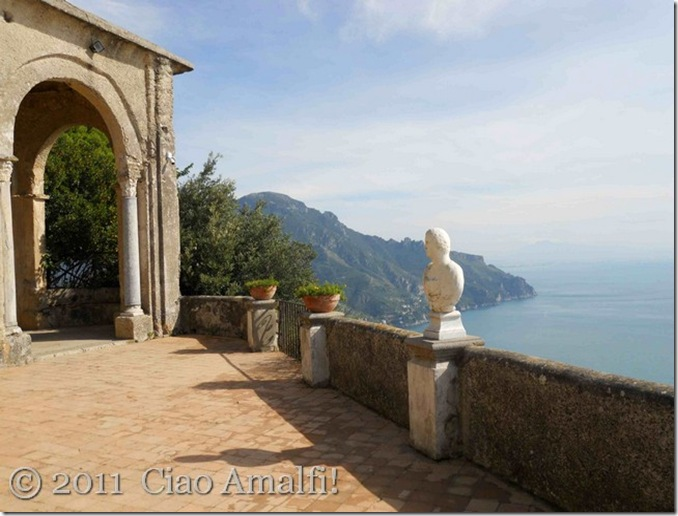 Ciao Amalfi Villa Cimbrone Terrace of Infinity