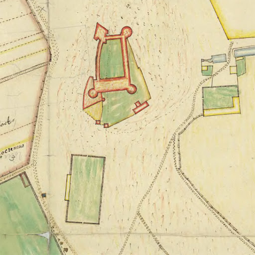 beridarebanan söder om Uppsala slott