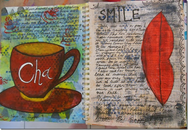 Cha & Smile page