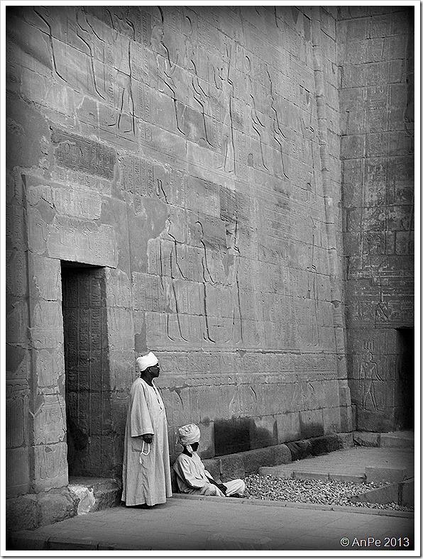 2013_Projekt BlackWhite_Aegypten_Edfutempel