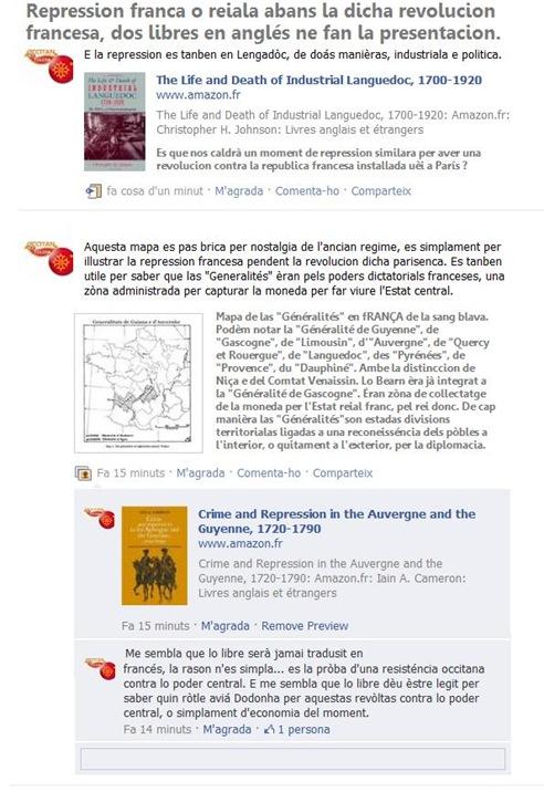 repression francesa en Occitània abans la dicha revolucion francesa