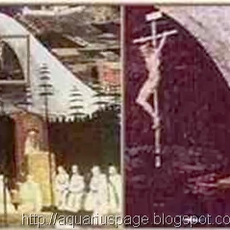 Os Ufos nas Crucificação de Jesus