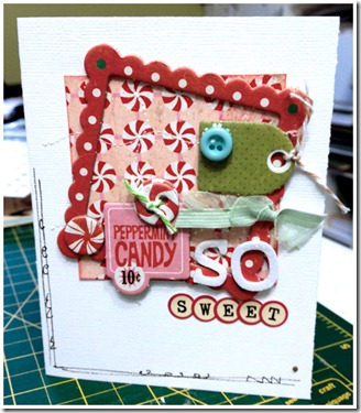 So sweet Card Jan 2012