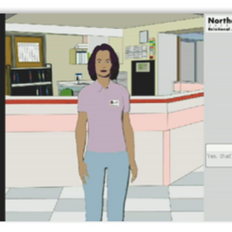 A Virtual Nurse for Hospital Discharge–Elizabeth With a Very Familiar Xtranormal Type Voice…