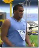 Atleta faz segundo pior resultado de sempre nos 100 metros