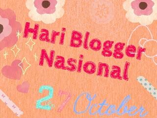 Hari Blogger Nasional?