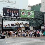 smap softbank ad in shibuya in Tokyo, Tokyo, Japan