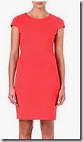 Hugo Coral Jersey Dress