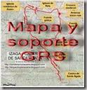 Mapa y soporte GPS - monte San Lorenzo