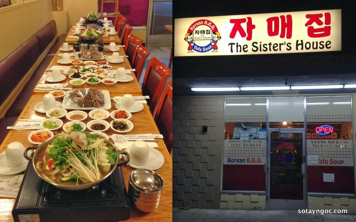 Quán ăn Hàn Quốc - The Sister's House - ở Hayward