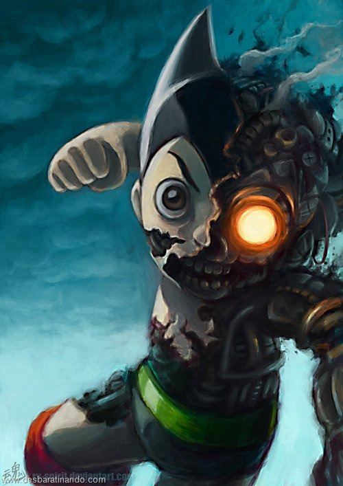video game fan art desbaratinando  (6)