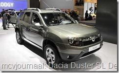 2012 Autosalon Geneve - Dacia Duster Delsey