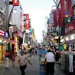 ueno shopping street in Ueno, Tokyo, Japan
