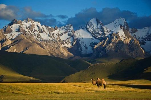 Панорама_гор_в_Киргизии