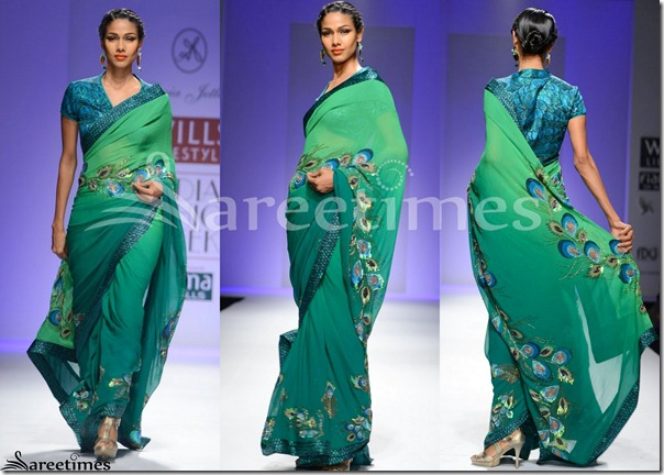 Sonia_Jetleay_Green_Saree