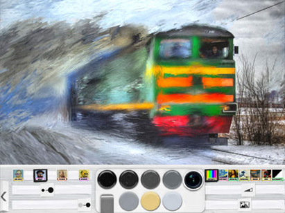 Free Painting App with Realistic Brush and Photo To Paint