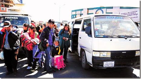 Paroi abusivo en El Alto