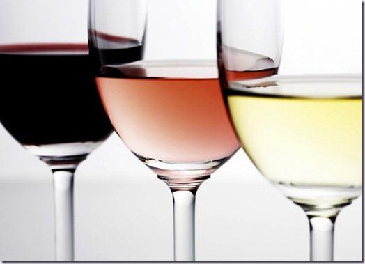 vinho a copo