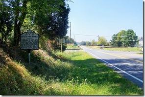 Battle of Port Republic marker JD-10 along Route 340 in Rockingham County, VA