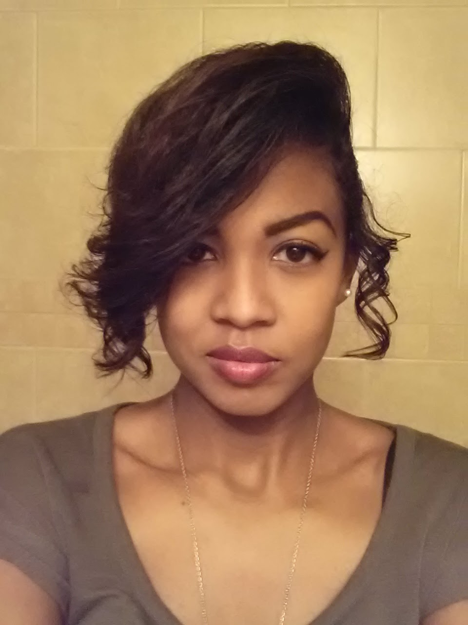 BriRose Please Stay Curly Updo Protective Style