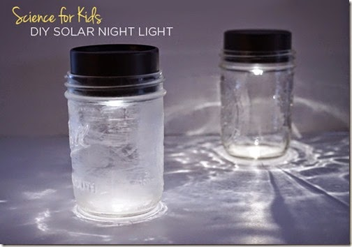 Make a Solar Light Science Project - This is such a fun, simple to make project for kids of all ages.