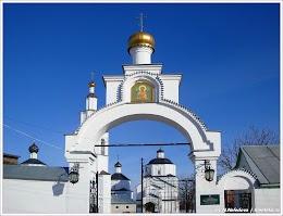 Ворота. Свято-Николаевский мужской монастырь, г.Рыльск.