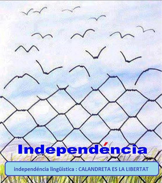 Calandreta en libertat
