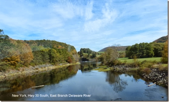 New York, Hwy 30 South, East Branch Delaware River