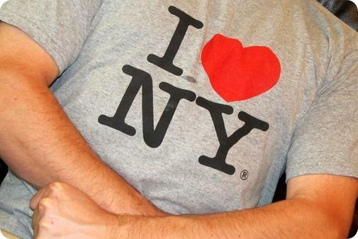Ben I Love NY Shirt