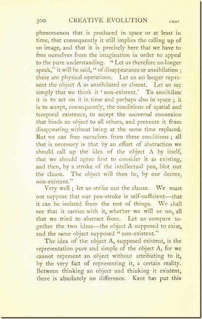 Bergson. Creative Evolution. 1911 creativeevolutio00berguof.test.t_Page_314