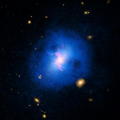 aglomerado galáctico Abell 2597