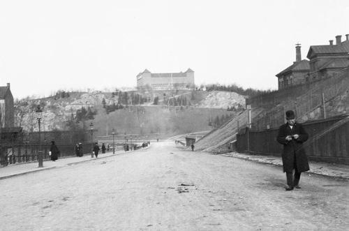 Vanadislunden från Norrtullsgatan 1916. Foto Kasper Sahlin.