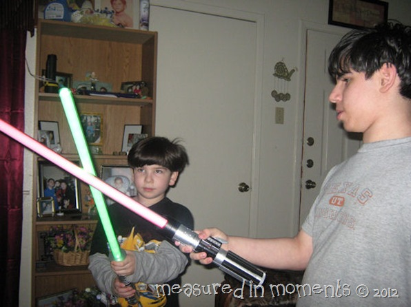 Light saber battles pic2