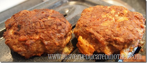 meatloaf patties without ketchup