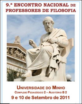 cartaz do 9º Encontro Nacional de Professores de Filosofia