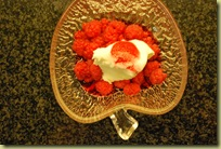 2012-01 Raspberries with Ice Cream
