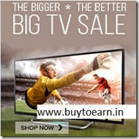 Snapdeal: Buy Best Selling TVs upto 50% off