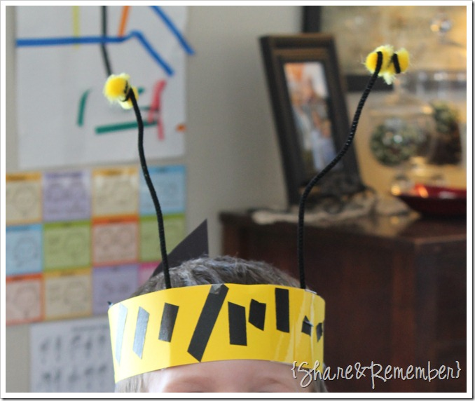 Buzzing Bees Preschool Activities
