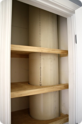 DIY laundry chute