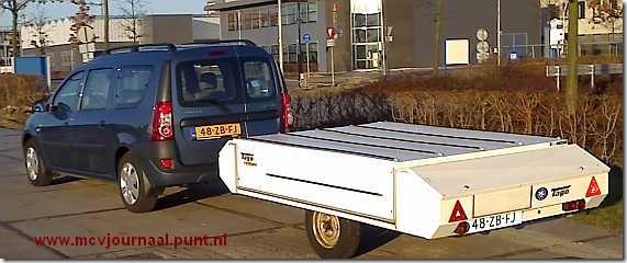 Dacia Logan MCV met Bagagewagen 03