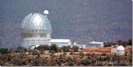 McDonald Observatory.
