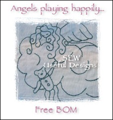Angels playing button