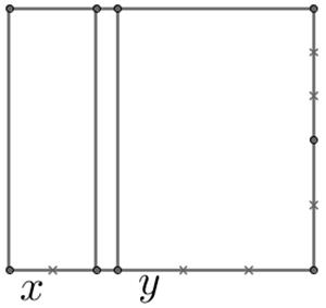 rettangolo x y
